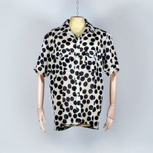 Load and play video in Gallery viewer, Exclusive Silk Shirt - Crazy Dots