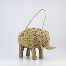 Load and play video in Gallery viewer, Woven Rattan Animal Clutch, found in Mexico City