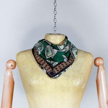 Load and play video in Gallery viewer, Coq Fight Silk Scarf