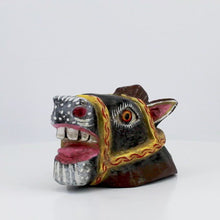 Load and play video in Gallery viewer, Crazy Horse Wooden Mask