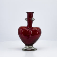 Load image into Gallery viewer, Heart Shaped Glass Vase