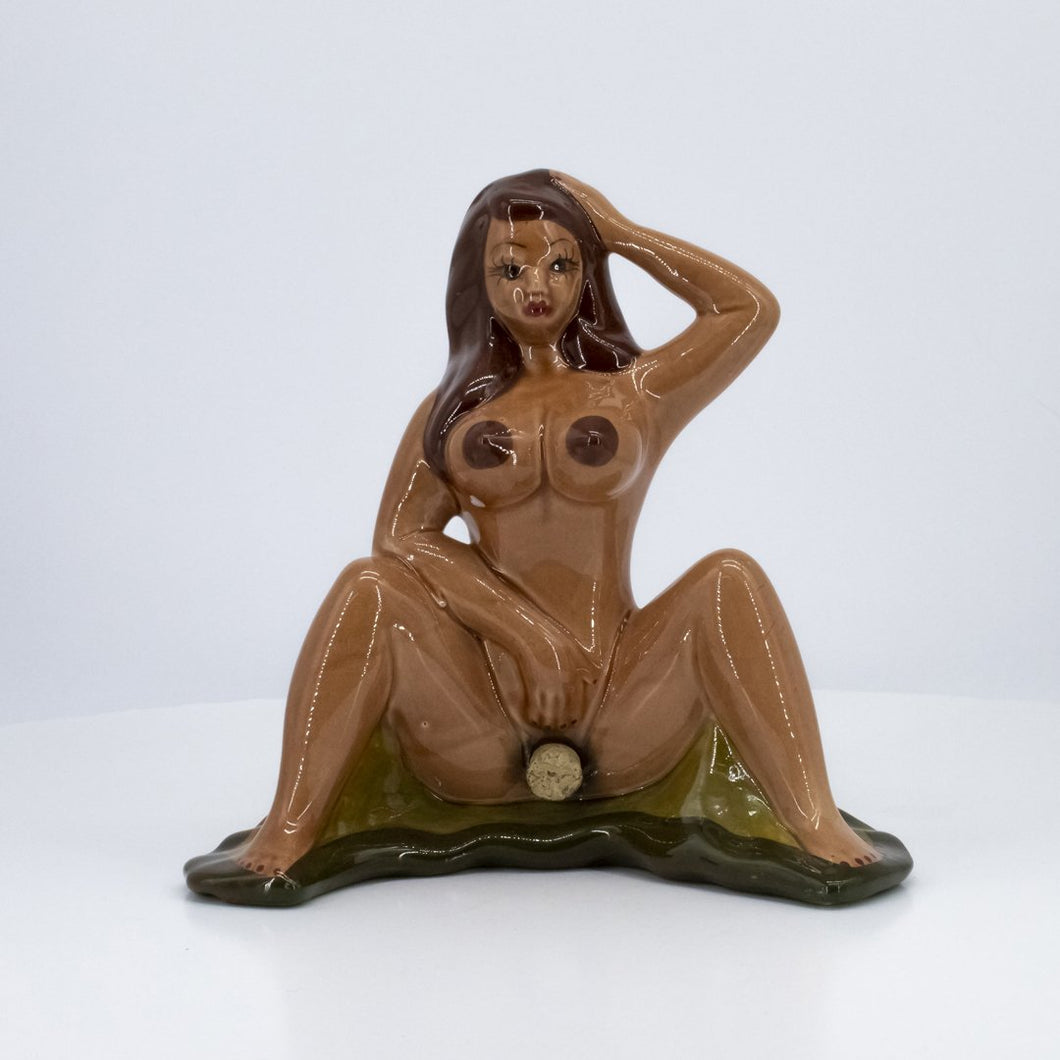 Naked Ceramic Bottle Lady