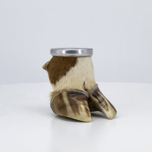 Mate Cup made out of a Cow foot