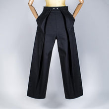 Load image into Gallery viewer, Two Pleats Pants - Utex Black