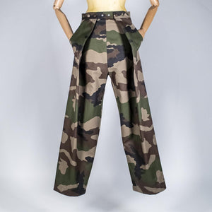 Two Pleats Pants - Utex Camo