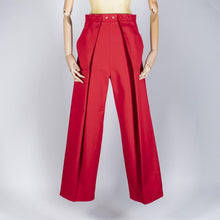 Load image into Gallery viewer, Two Pleats Pants - Utex Red