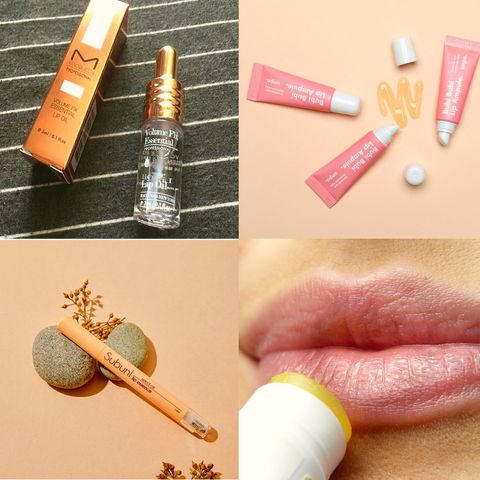 MACQUEEN Volume Fix Essential Lip Oil Bubi Bubi Lip Ampule (Lip Balm) Merlin Lip Essence