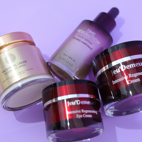 Peptide, Ceramide, Lactic Acid and Salmon Collection
