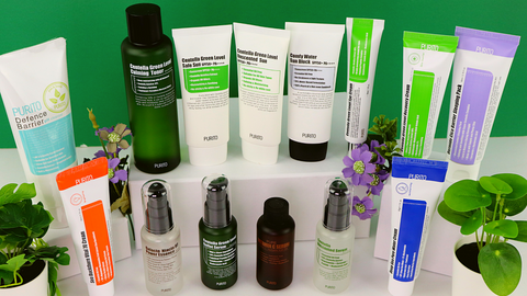 Find your inner green with Purito! Vegan and cruelty-free skincare and makeup