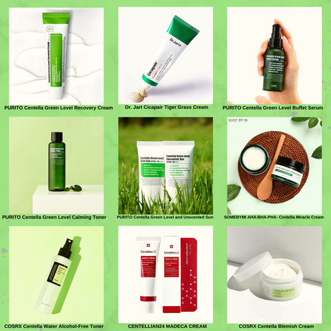 Centella Products Collection