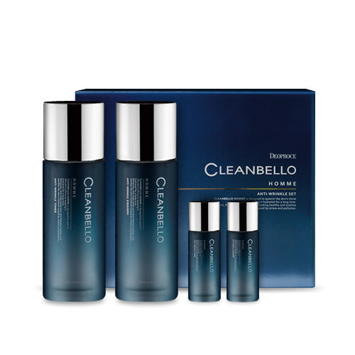 DEOPROCE Cleanbello HOMME Anti-wrinkle SET