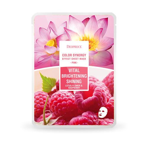 DEOPROCE Color Synergy Mask PINK: Lotus
