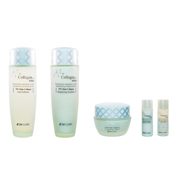 [30%Sale]3W CLINIC Collagen Whitening Skincare Set(Free Delivery & Free Gift!)