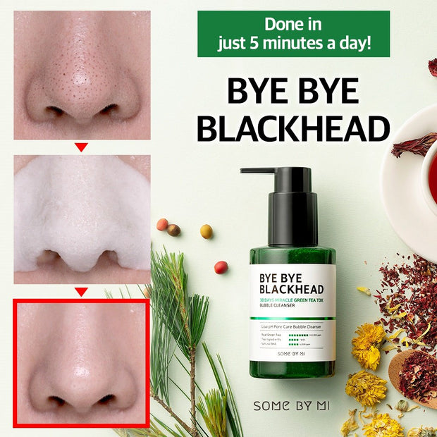 Somebymi BYE BYE Blackheads Bubble Cleanser, 120g