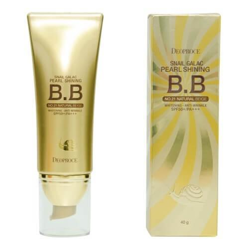 DEOPROCE Snail Pearl Shining BB Cream (SPF50 + / PA +++)