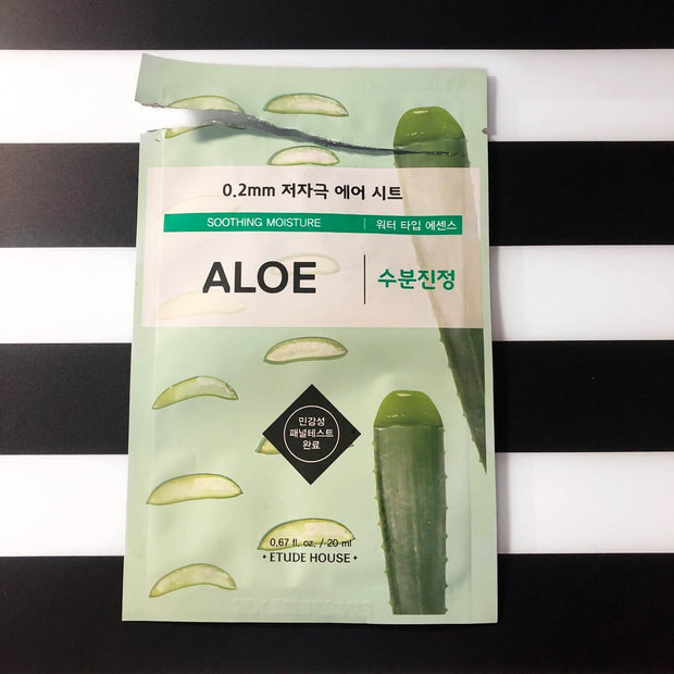 Etude House 0.2mm Therapy Mask ALOE VERA, 1pc