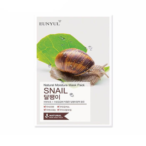 Eunyul Natural Moisture Sheet Mask - SNAIL