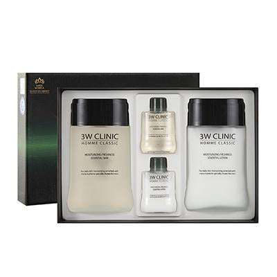 3W CLINIC Homme Classic Skincare SET for Men