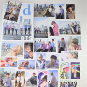 [BTS LIMITED EDITION] Dispatch Magazine Dicon BEHIND BTS 220pages Photocard 15ea Postcard 10ea