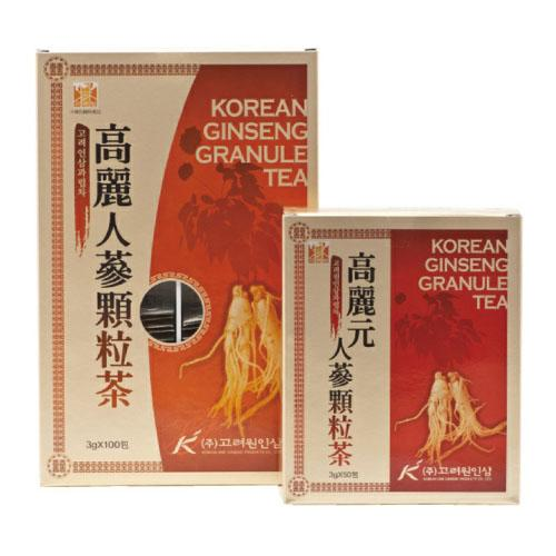 Korean Ginseng Granule Tea