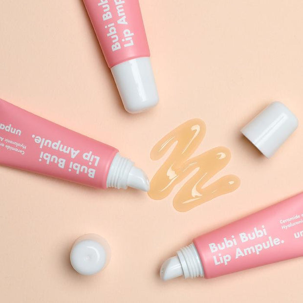 [NEW YEAR Sale] Bubi Bubi Lip Scrub and Ampoule Lovely Lips Set (lip care)