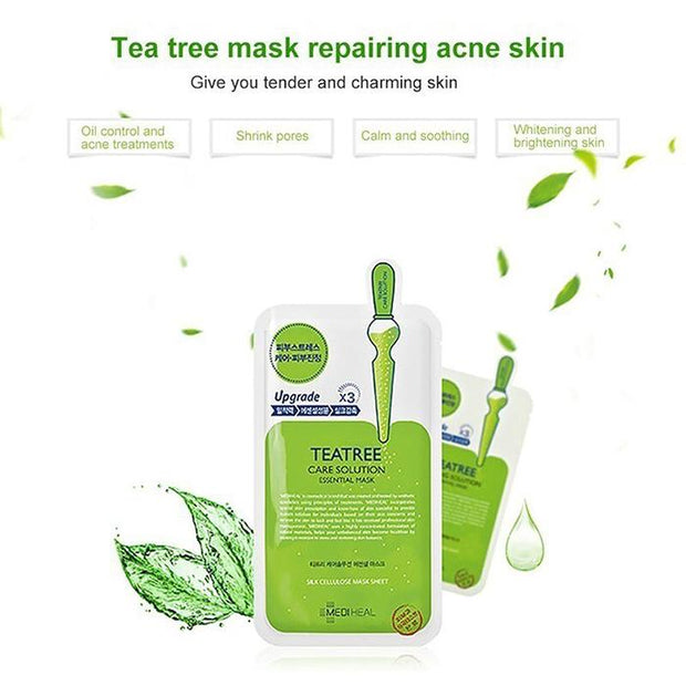Mediheal TEA TREE Healing Solutions Mask (troubled skin),1pc