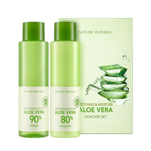 Nature Republic Moisture Aloe Vera Toner & Emulsion Set