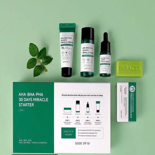 SomebyMI's AHA BHA PHA Miracle STARTER KIT