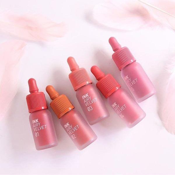 Peripera Ink the Velvet AIRY Liptint (new colors!)