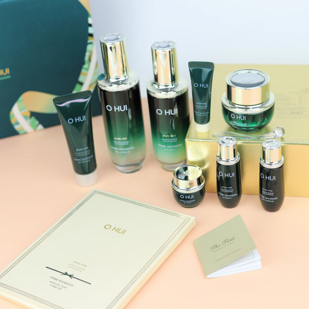 OHUI Prime Advancer Skin Care Set (anti-aging & moist)