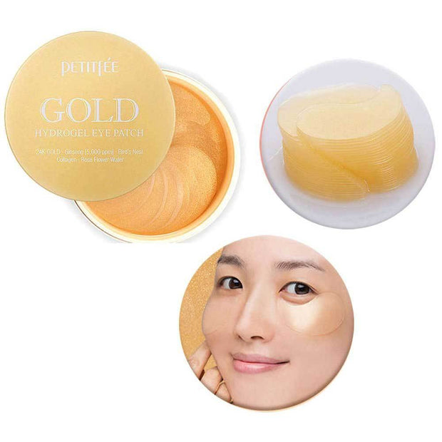 PETITFEE Gold Hydrogel Eye Patch 1.4g x 60 (30pairs)