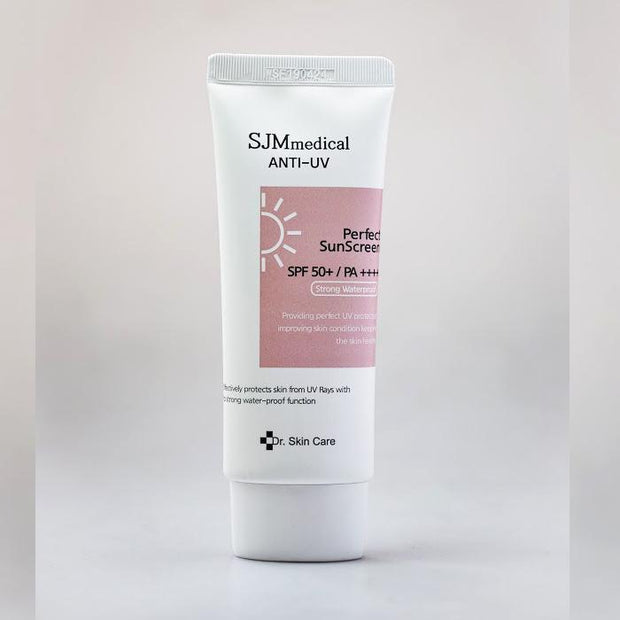 [Super Sale] SJM Medical Anti-UV Perfect Sunscreen spf50 pa++++ (Strong waterproof sunblock)