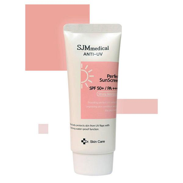 SJM Medical Anti-UV Perfect Sunscreen spf50 pa++++ (Strong waterproof sunblock)