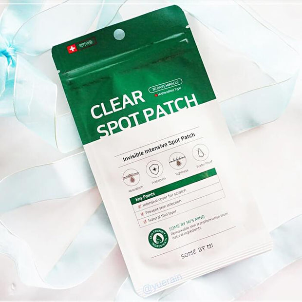 Somebymi Clear Spot Patch 18pcs (10mmx9ea + 12mmx9ea)