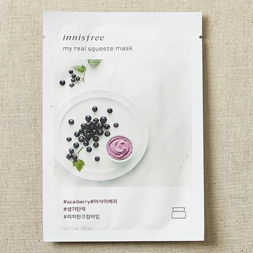 [Sale] Innisfree AcaiBerry My Real Squeeze Mask