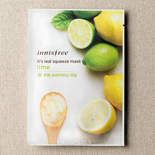 [Sale] Innisfree LIME My Real Squeeze Mask