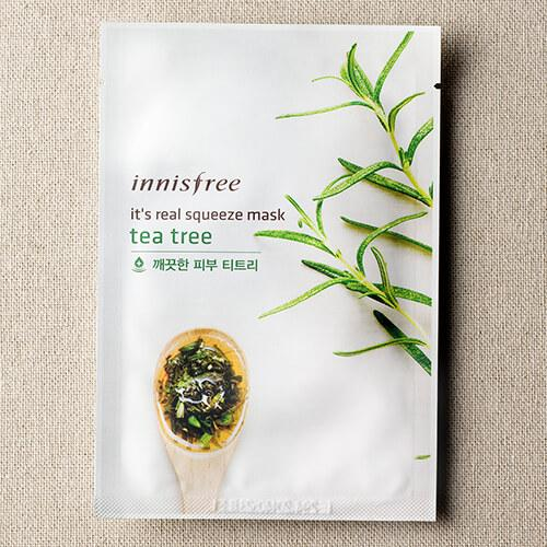 [Sale] Innisfree Tea Tree My Real Squeeze Mask