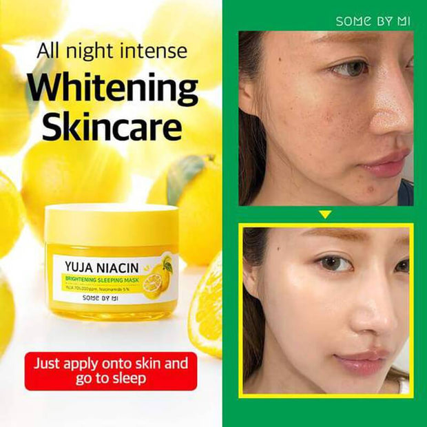 SomebyMi Yuja Niacin BRIGHTENING Sleeping Pack Cream