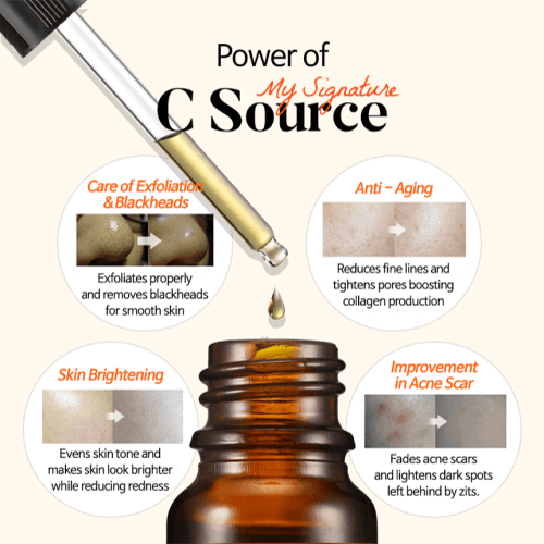 TIAM Vitamin C Serum My Signiture C Source
