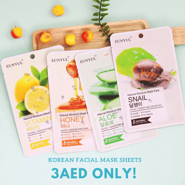 [TimeSale] EUNYUL Natural Moisture Sheet Mask, 1pc