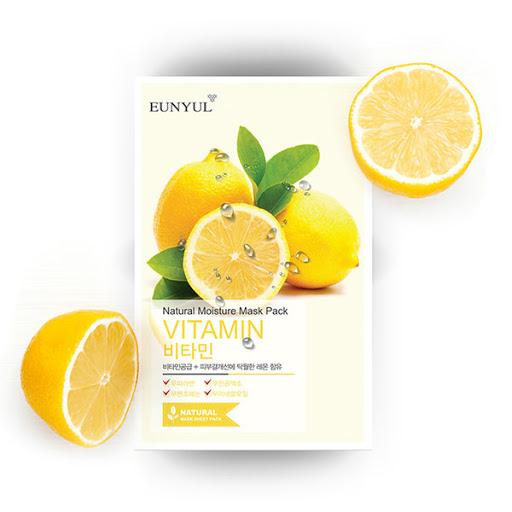Eunyul Natural Moisture Sheet Mask - VITAMIN