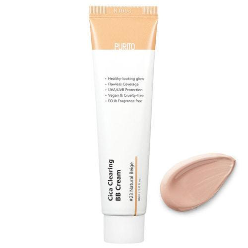 PURITO Cica Clearing BB Cream,30ml (vegan) spf38 pa+++