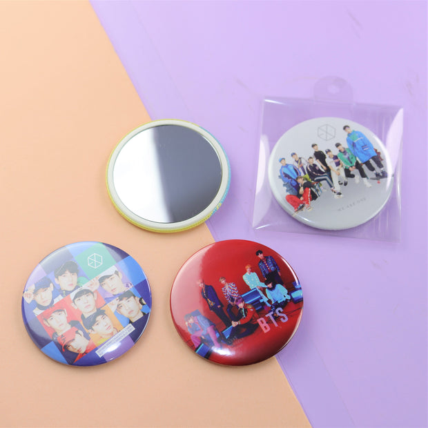KPOP POCKET MIRROR (BTS & EXO)