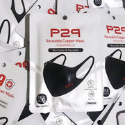[SALE] P29 Antibacterial Copper Mask (kills 99% germs) Washable & Reusable,1pc (freesize)