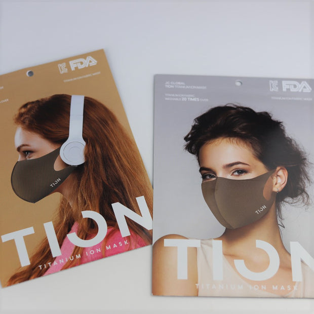 [SALE] Titanium Ion Mask (TION) - 99% antibacterial Washable and Reusable [higher quality than copper mask)