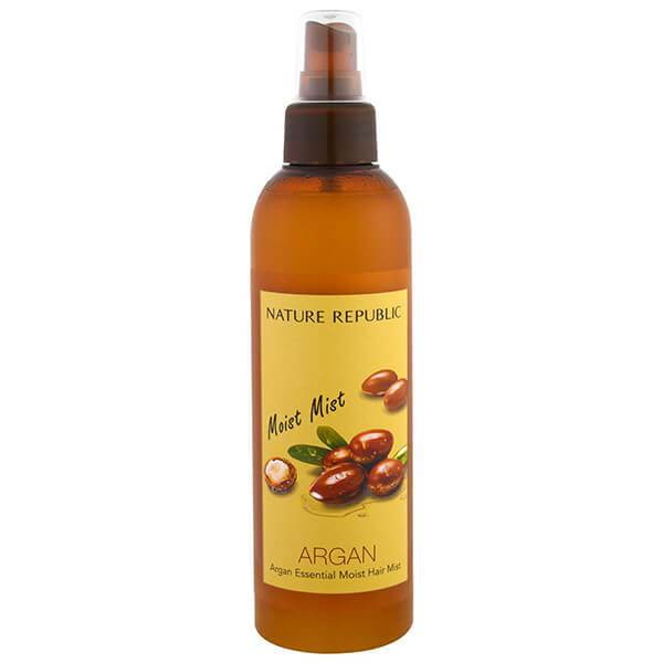 Nature Republic ARGAN Essential Moist Hair MIST, 220ml