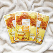 DEOPROCE Color Synergy Mask YELLOW: Honey and Snail Mucin