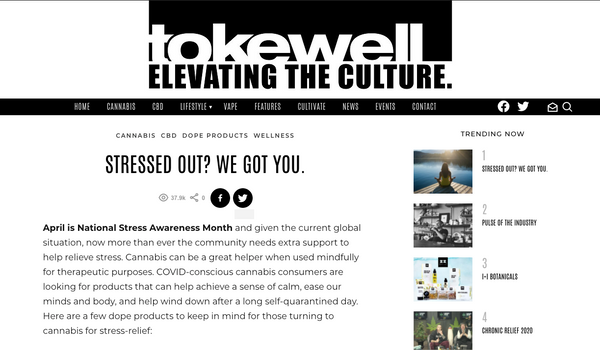 Tokewell: Stressed Out?