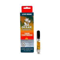 Live Resin Vape Cartridge | Super Lemon Haze