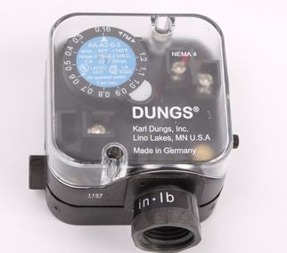 20390 GILES SWITCH, VACUUM, DUNGS, 0.16